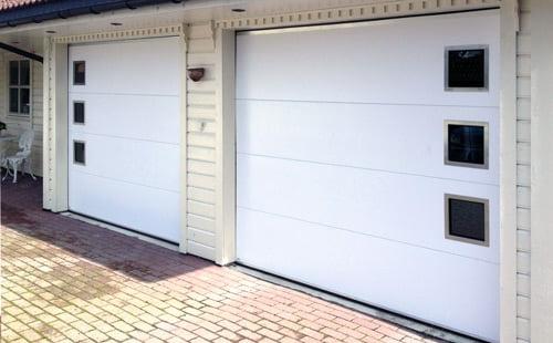 Lobas garasjeport - Eksklusiv Modern